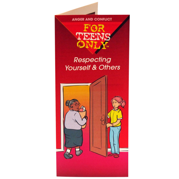 For Teens Only Pamphlet: (25 pack) Respecting Yourself and Others
