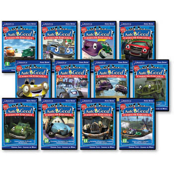 Auto B Good Character Education 12 DVD Series