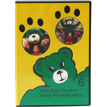 Kelly Bear Teaches About Personal Safety DVD