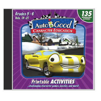Auto B Good Activity CD, Volumes 13-21   Grades 5-6