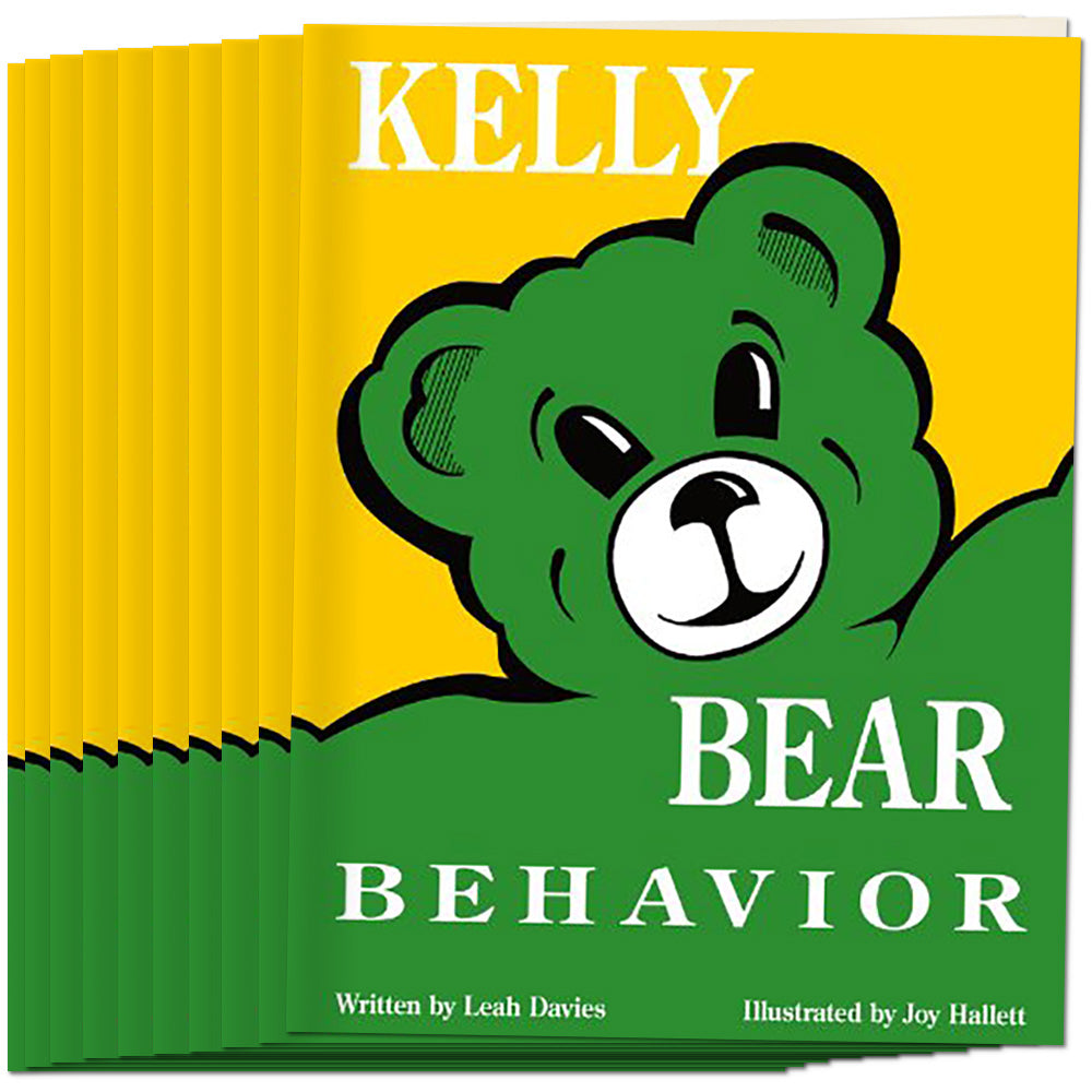 Kelly Bear Behavior Book, (Set of 10)