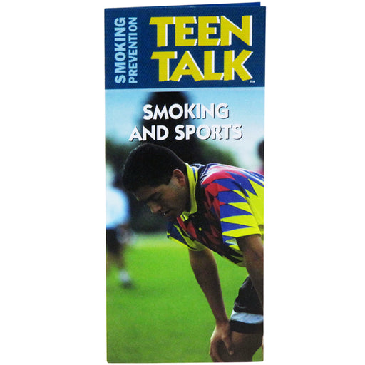 TeenTalk: (25 pack) Smoking and Sports Pamphlet