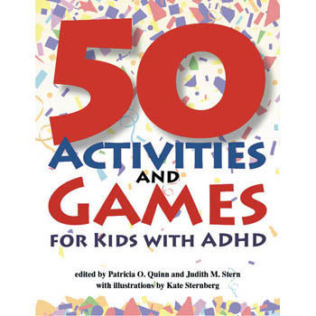 50 Activities & Games for Kids with ADHD Book