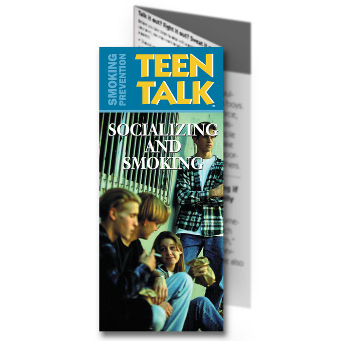 TeenTalk: (25 pack) Socializing and Smoking Pamphlet
