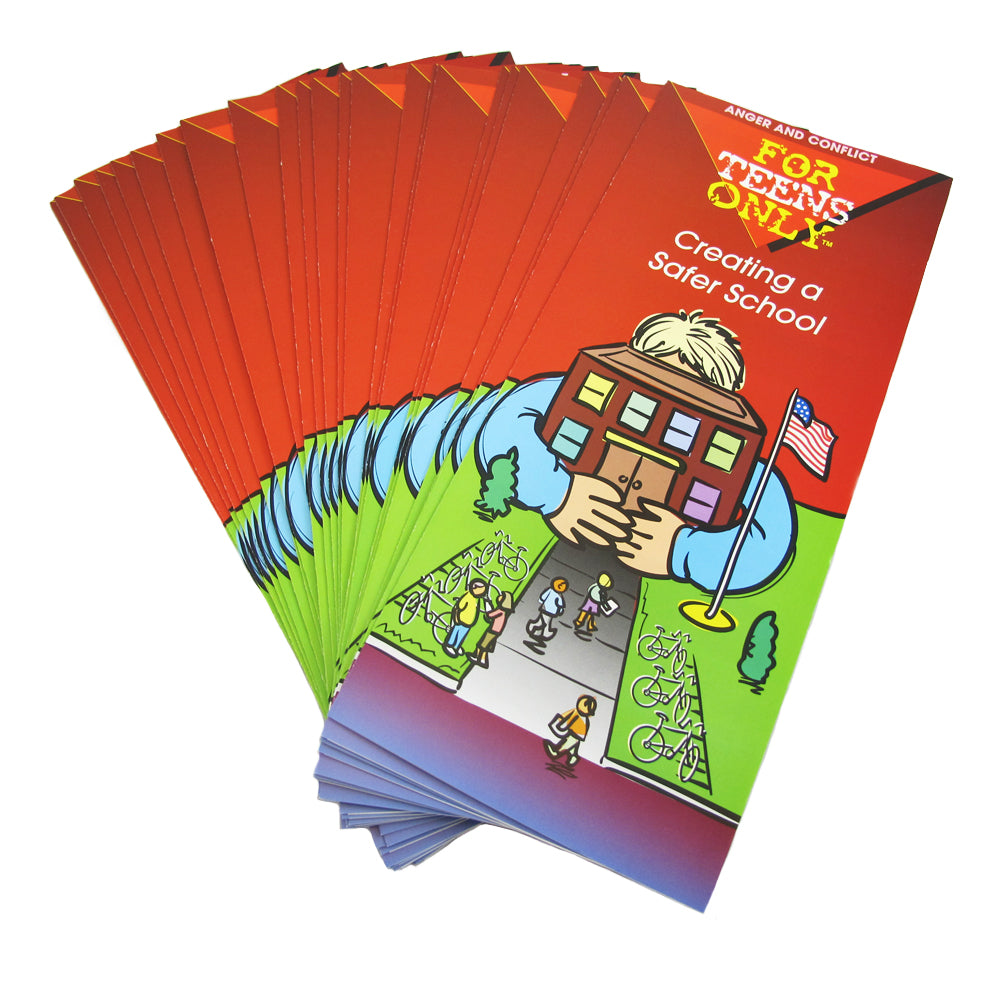 For Teens Only Pamphlet: (25 pack) Creating a Safer School