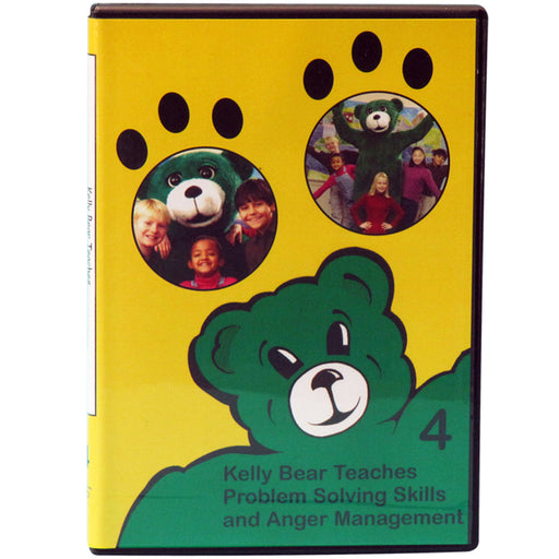 Kelly Bear Teaches About Problem Solving Skills and Anger Management DVD