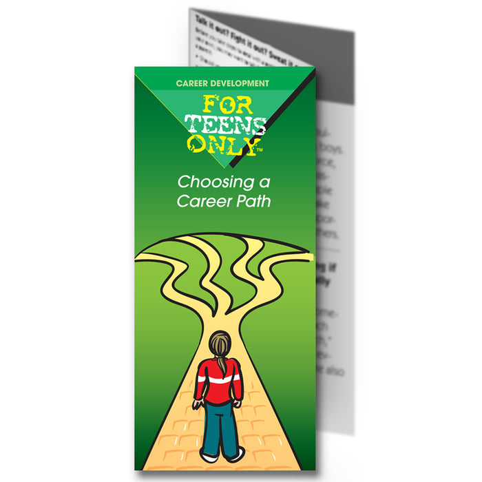 For Teens Only Pamphlet: (25 pack) Choosing a Career Path