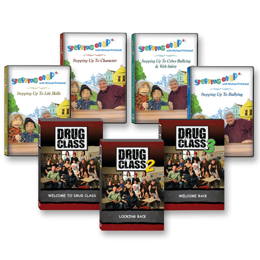 Complete 43 DVD Library Set: Drug Class & Stepping On Up