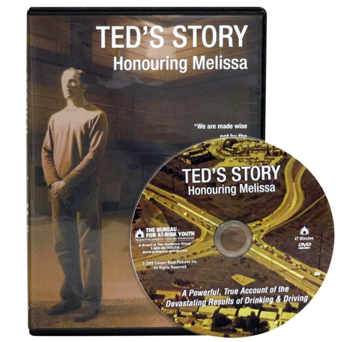 Ted's Story: Honouring Melissa DVD
