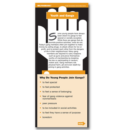 Helping Hands Card: (25 pack) Youth and Gangs