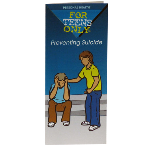 For Teens Only Pamphlet: (25 pack) Preventing Suicide