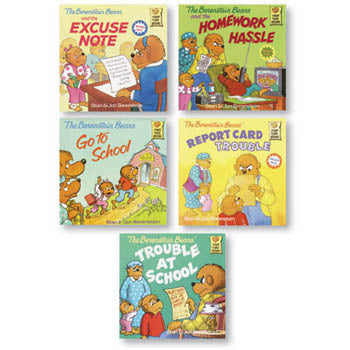 Berenstain Bears Positive Character Book Set - Character At School