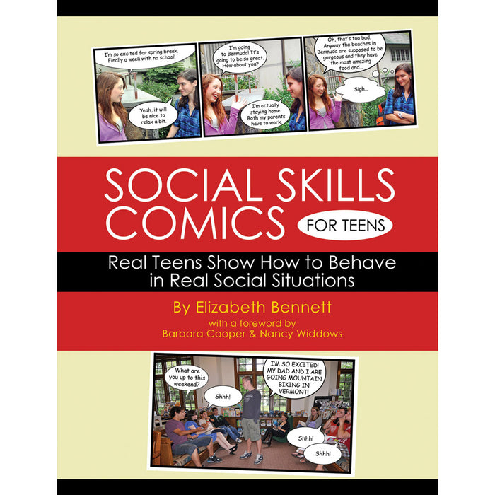 Social Skills Comics For Teens Workbook