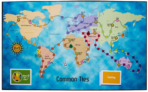 Common Ties Board Game: Living Together in a Multicultural World