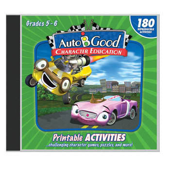 Auto B Good Activity CD, Volumes 1-12   Grades 5-6