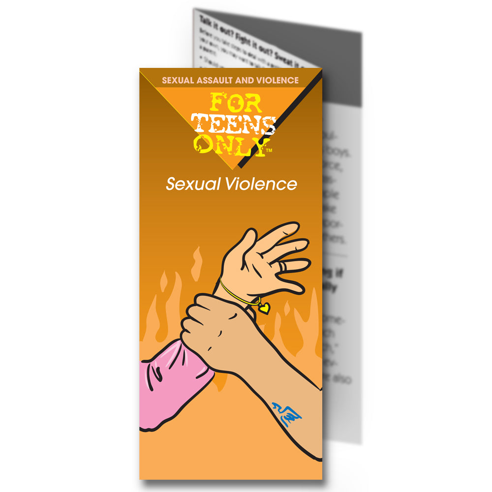 For Teens Only Pamphlet: (25 pack) Sexual Violence