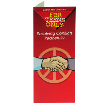 For Teens Only Pamphlet: (25 pack) Resolving Conflicts Peacefully