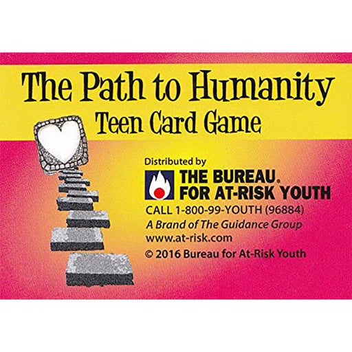The Path to Humanity Teen Card Game
