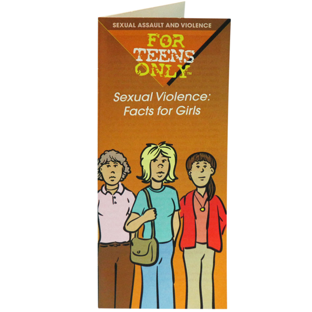 For Teens Only Pamphlet: (25 pack) Sexual Violence: Facts for Girls
