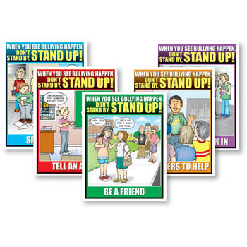 Don't Stand By, Stand Up! Poster Set