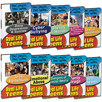 Real Life Teens Series, (10 DVD set)