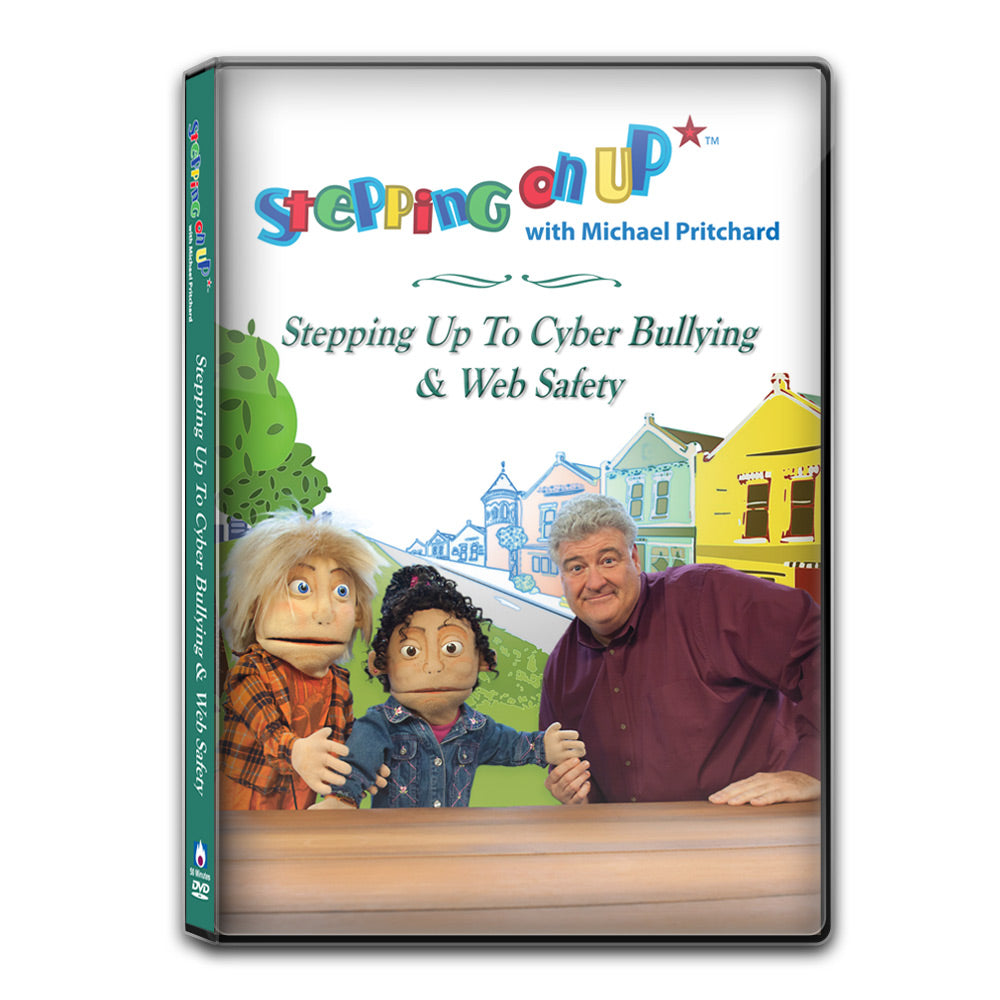 Stepping Up to Cyber Bullying & Web Safety DVD
