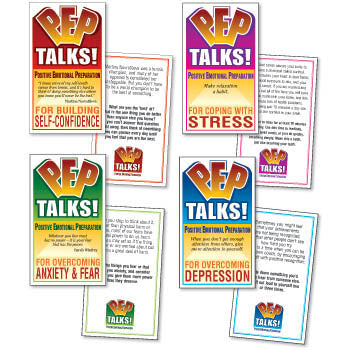 PEP Talks Cards, Set of 4