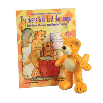 The Hyena Who Lost Her Laugh Book & Plush