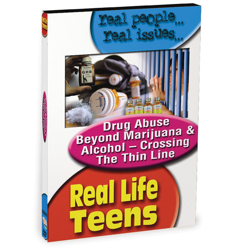 Real Life Teens: Drug Abuse Beyond Marijuana & Alcohol DVD