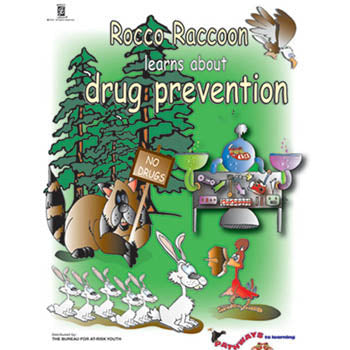 Pathways to Learning Activity Book: (25 pack) Rocco Raccoon Learns About Drug Prevention