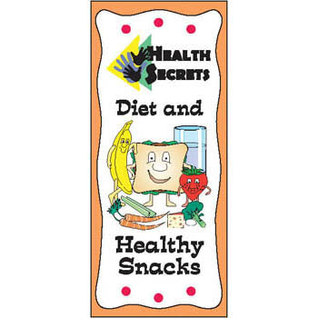 Health Secrets Pamphlet: (25 pack) Diet & Healthy Snacks