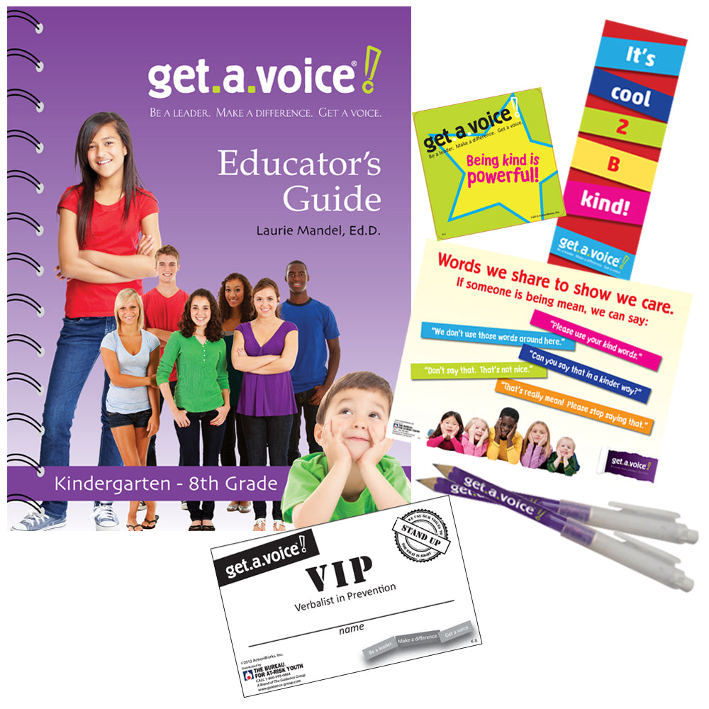 Get.A.Voice! (Grades 6-8) Bullying Prevention Program