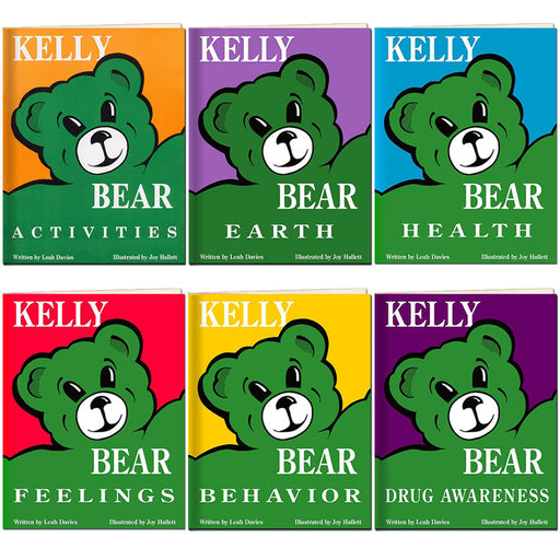 Kelly Bear 6 Book Set