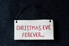 CHRISTMAS EVE FOREVER...