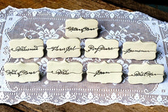 HEAD TABLE PLACE CARDS (SMALL SCRIPT)