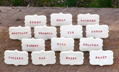 CUSTOM TABLE PLACE CARDS