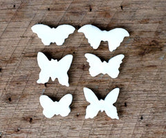 BUTTERFLY TOKENS/SET OF 6