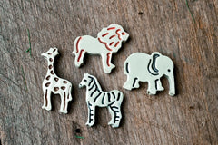 Zoo Animals/Set of 4