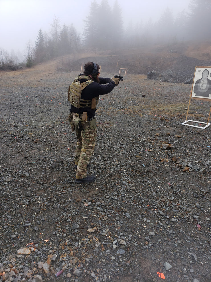 PISTOL FUNDAMENTALS, FEBRUARY 27, CAMAS, WA
