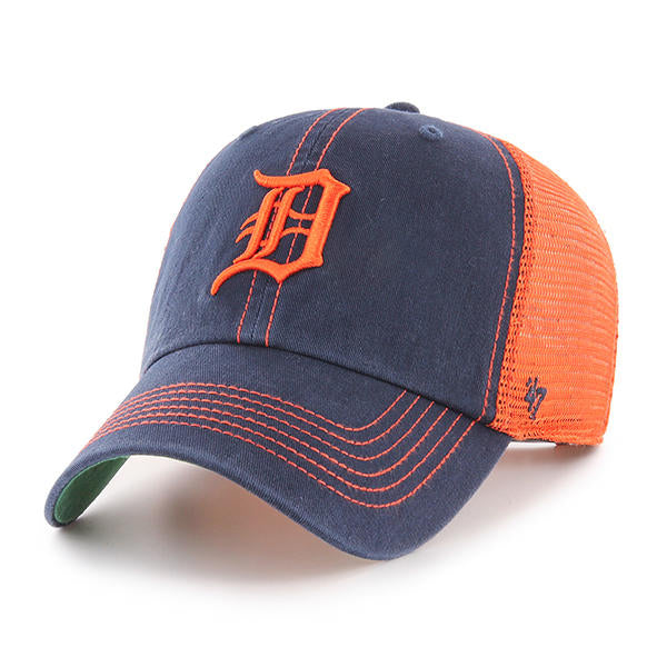 Detroit Tigers Navy Trawler 47 Clean Up Hat