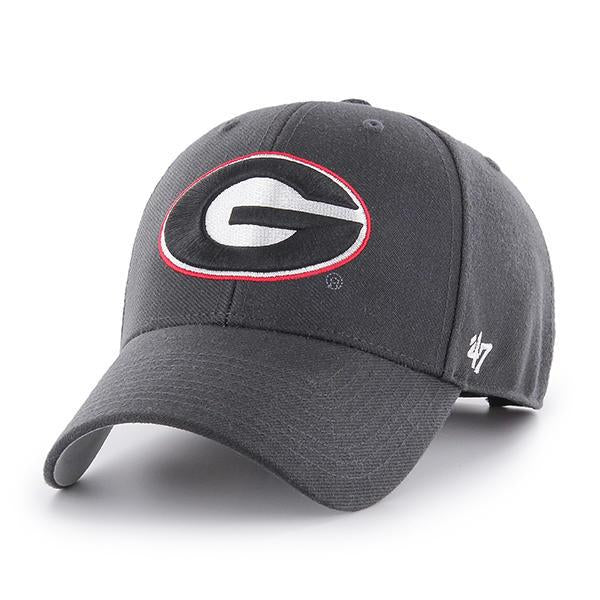 Georgia Bulldogs '47 MVP Adjustable Hat - Graphite