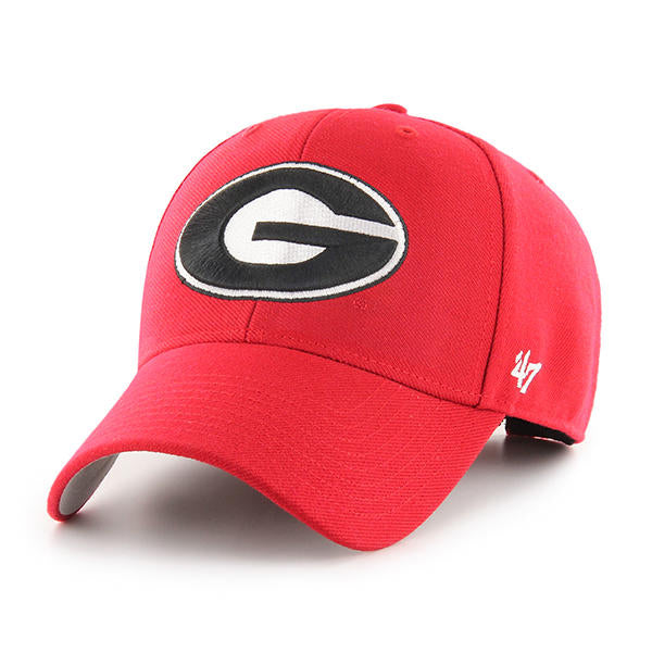 Georgia Bulldogs Red MVP Hat