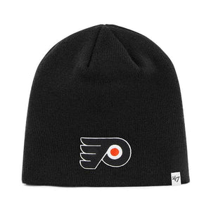 Philadelphia Flyers 47 Brand Black Beanie Hat