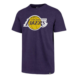 Los Angeles Lakers Purple Primary Team Logo T-Shirt