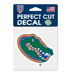 "University of Florida Perfect Cut 4"" x 4"" Decal"