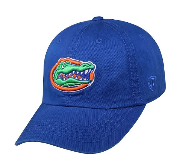 Florida Gators Adjustable Strap Blue Crew Hat
