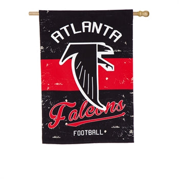 Atlanta Falcons Football House Flag