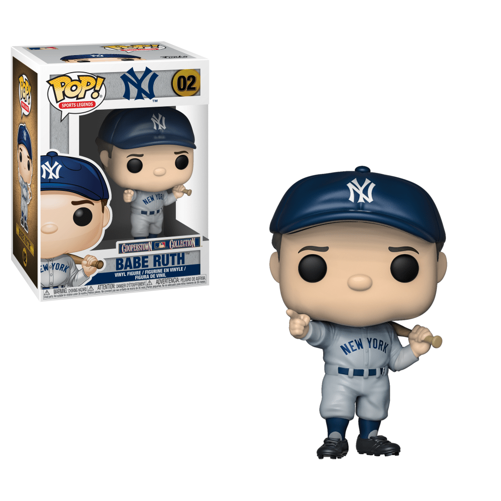 Babe Ruth Cooperstown Collection Pop! 02