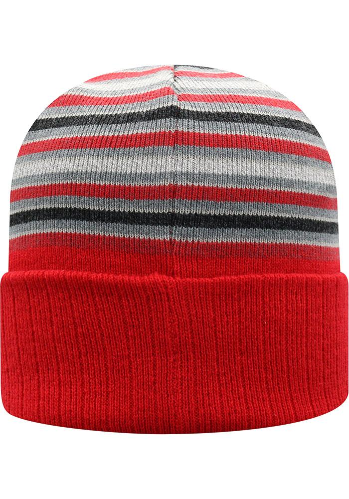 Ohio State Buckeyes McGoat Cuffed Knit Hat - Scarlet