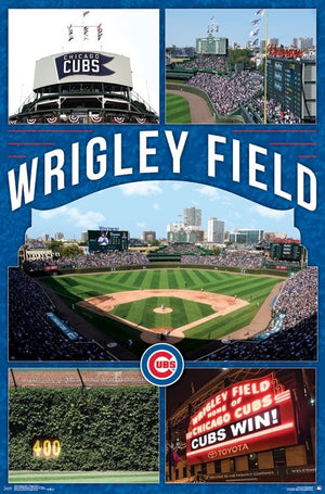 MLB: Chicago Cubs - Wrigley Field Poster
